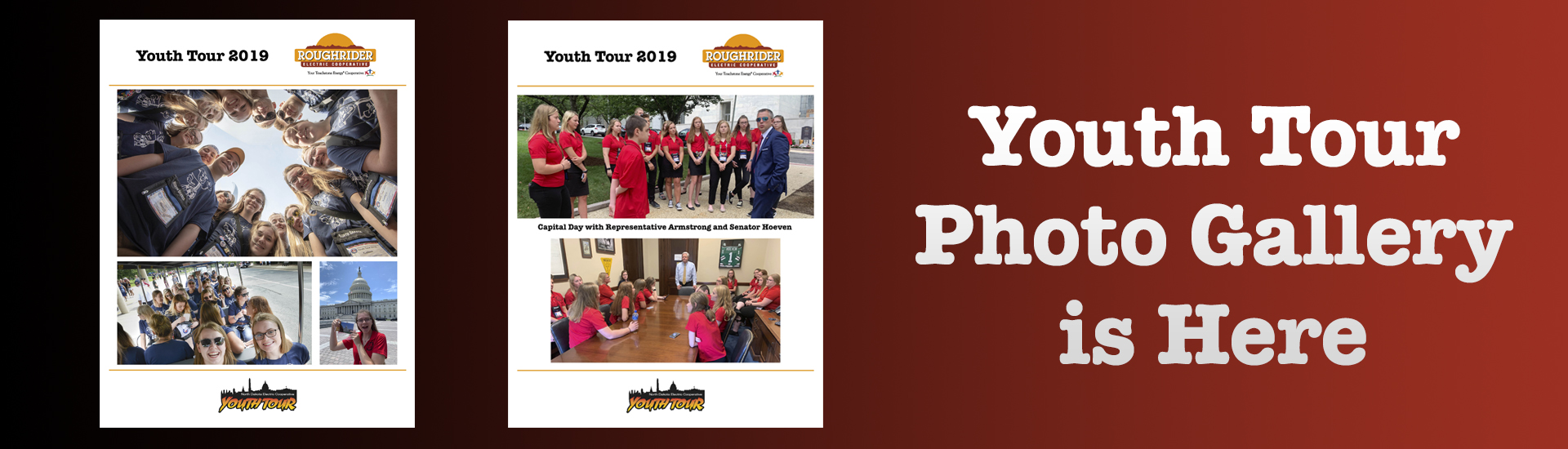 Youth Tour Photo Gallery Link